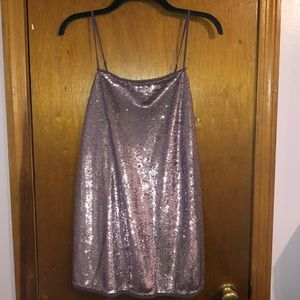 Free People sparkly sequin dress